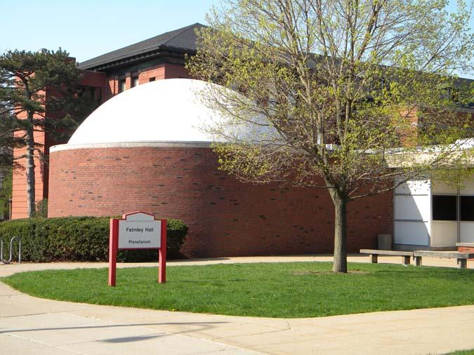 ISU Planetarium at Felmley Hall of Science