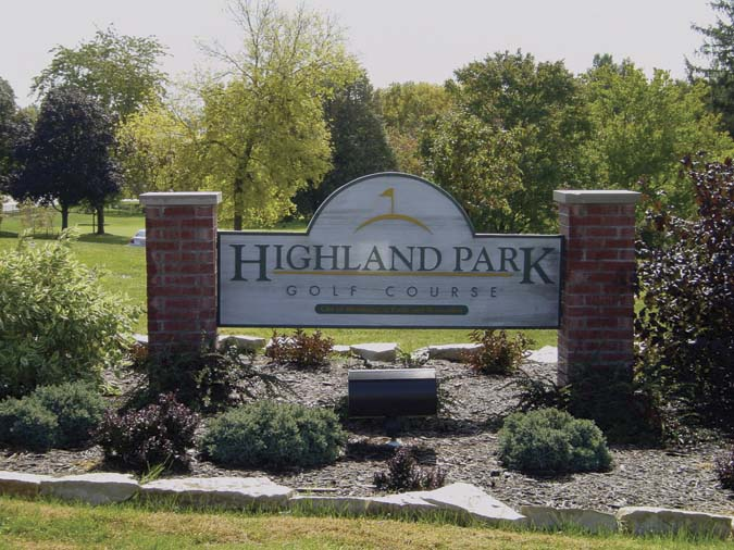 Highland Golf Course, Bloomington IL