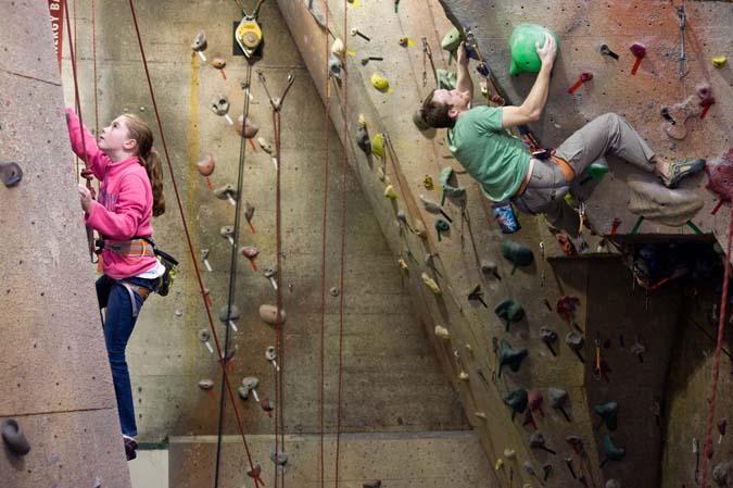 Rock climbing bloomington indiana