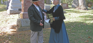 Evergreen Cemetery Discovery Walk