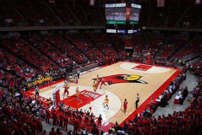 Isu Redbird Arena Bloomington Normal Illinois