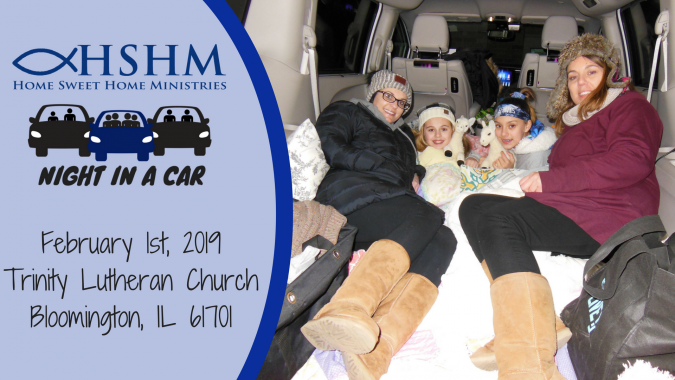 Home Sweet Home Ministries' Night In A Car - Bloomington ...